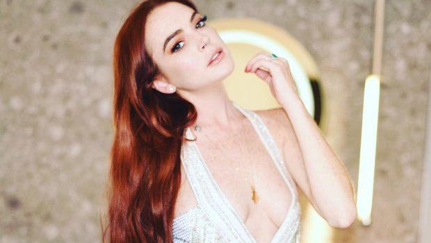 Lindsay Lohan tenta tirar filhos de mãe nas ruas de Moscou e apanha