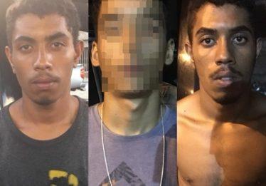 Dois homens são presos e adolescente é apreendido suspeitos de assaltar joalheria de shopping