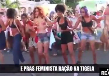 Música a favor de Bolsonaro, ofensiva às mulheres, é cantada durante manifestação em Pernambuco