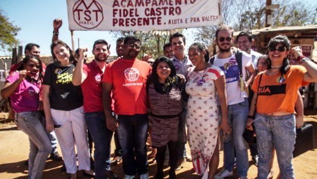 PCB e PSOL se unem para receber Sônia Guajarara em Goiânia