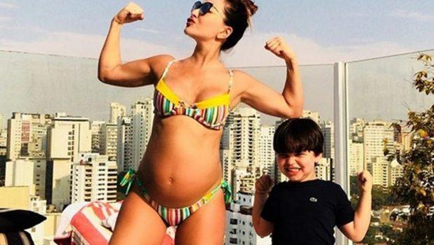 No 7º mês de gestação, Sabrina Sato revela quanto peso já ganhou