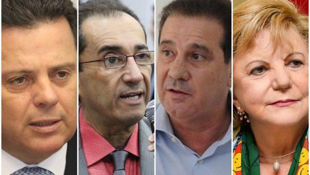 Serpes/O Popular: Marconi, Kajuru, Vanderlan e Lúcia estão empatados tecnicamente