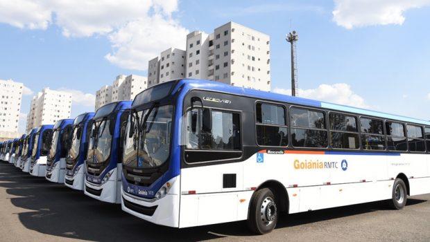 Goiânia recebe 60 novos ônibus do transporte coletivo