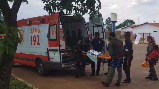 Criança de um ano se afoga em Luziânia e é transferida para Hugol de helicóptero