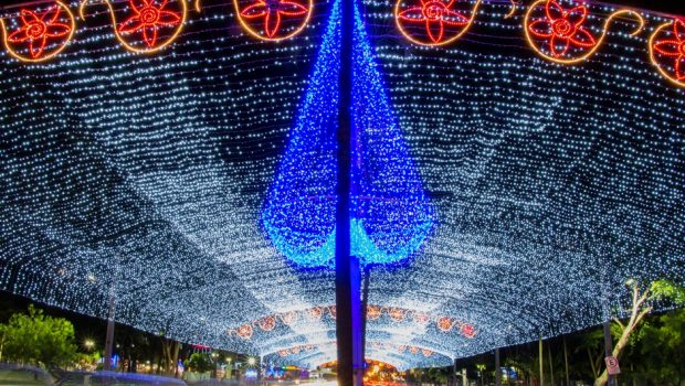 Prefeitura de Goiânia prepara iluminação natalina