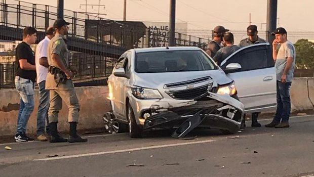 Acidente deixa uma pessoa ferida na BR-060, em Anápolis