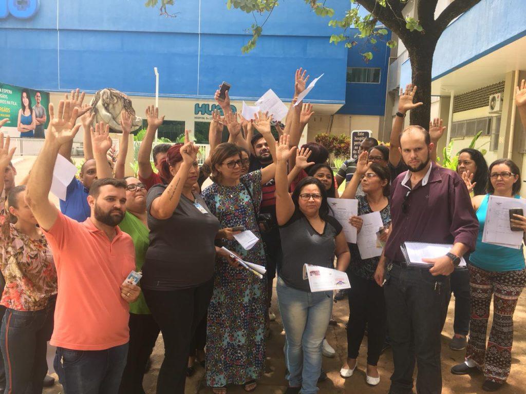 Após diálogo com Gerir, paralisação persiste no Hugo; greve é uma possibilidade
