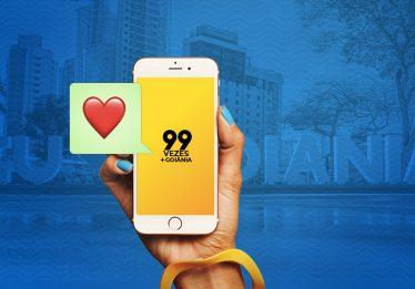 99 surpreende usuários com distribuição de descontos em Goiânia