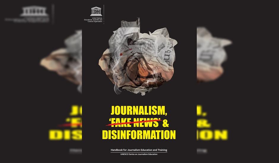 Unesco divulga cartilha para jornalista, na intenção de combater as fake news (Foto: Divulgação / ONU)