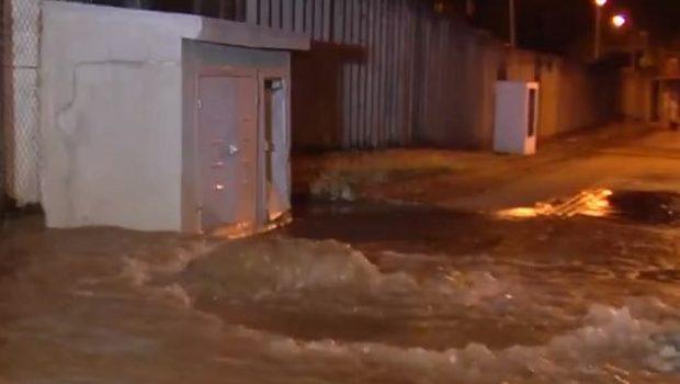 Vazamento provoca falta de água em vinte bairros de Goiânia nesta quarta-feira (3)