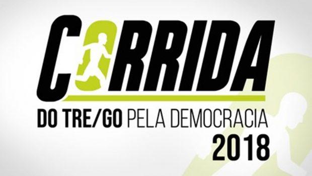 Em Goiás, TRE organiza corrida pela democracia, com acessibilidade