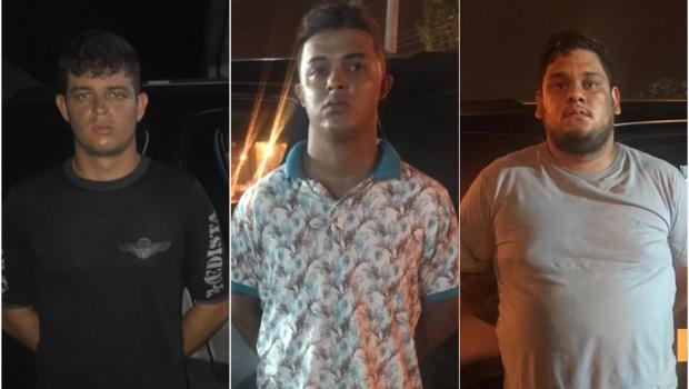 Preso trio com R$ 9 mil de movimentações irregulares de contas bancárias, em Goiânia