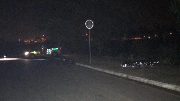 Motociclista morre após perder o controle da direção e bater contra meio-fio em Goiânia