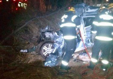 Duas pessoas morrem em acidente na GO-346, em Cabeceiras de Goiás
