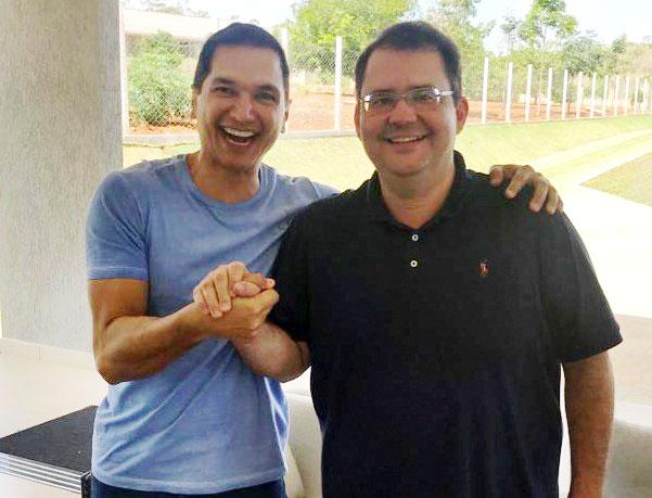 Pedro Paulo anuncia Ronivan Peixoto como seu vice-presidente na chapa