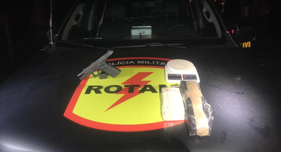 Suspeito de tráfico de drogas é morto em confronto com a Rotam, em Goiânia