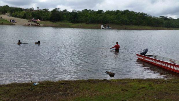 Corpo de homem que se afogou em represa em Alexânia é encontrado pelos bombeiros