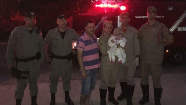 Bebê é encontrada abandonada em calçada no Bairro Goiá, em Goiânia