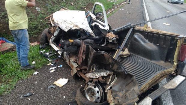 Condutor embriagado provoca acidente e deixa uma pessoa morta e duas feridas na BR-060, em Santo Antônio do Descoberto