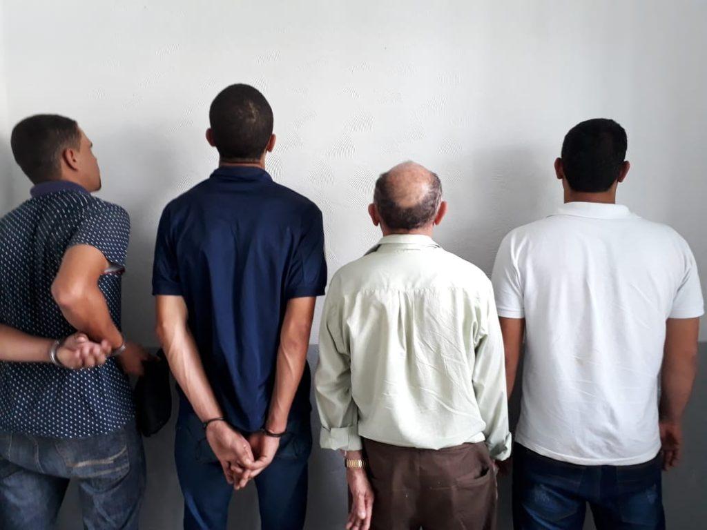 Idoso e outros três são presos por uso de documentos falsos em Itaberaí