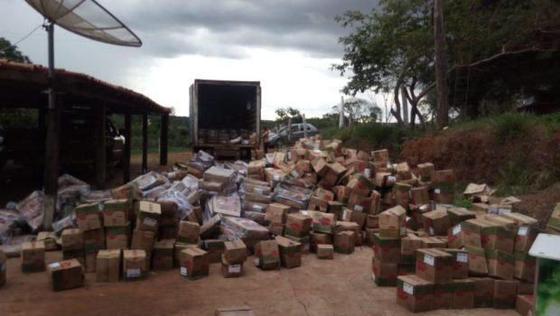 Operação em Luziânia termina com prisão de quadrilha especializada em roubo de cargas