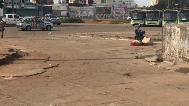 Corpo é encontrado na Praça do Trabalhador, em Goiânia