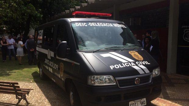 Polícia Civil inaugura primeira delegacia móvel especializada, em Goiás