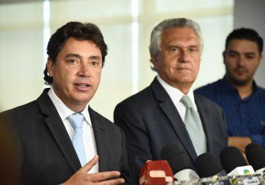 Ronaldo Caiado define Wilder Morais como coordenador da equipe de transição do Governo de Goiás