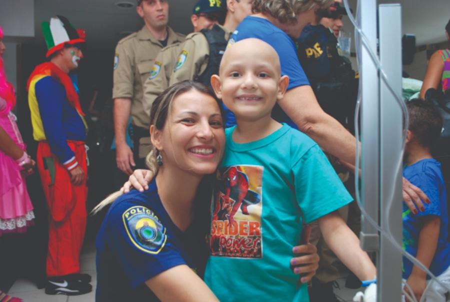 PRF inicia campanha Policiais Contra o Câncer Infantil nesta sexta (26), em Goiânia