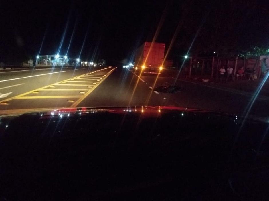 Atropelado por caminhão, ciclista morre na BR-153 em Santa Terezinha de Goiás