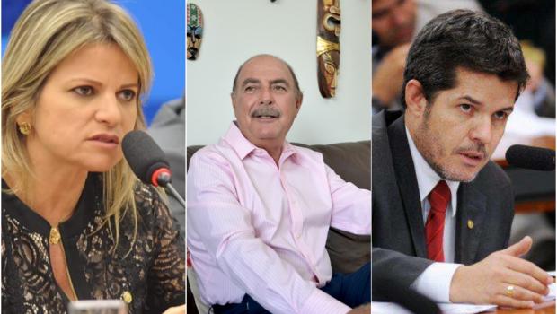 Delegado Waldir, Flávia Morais e Zacharias Calil são os deputados federais mais bem votados em Goiás