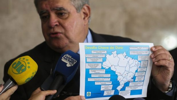'Chave de Ouro' destina R$ 195 mi para concluir hospitais em Goiás e Mato Grosso