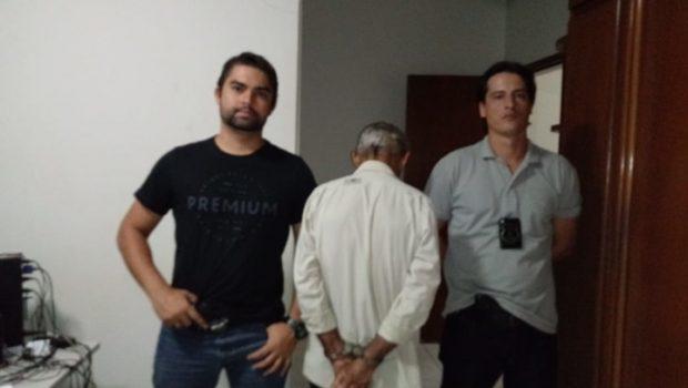 Idoso é preso por estupro de vulnerável, em Itaguaru