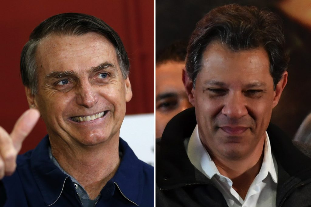 Resultado de imagem para Datafolha para presidente, votos válidos: Bolsonaro, 58%; Haddad, 42%