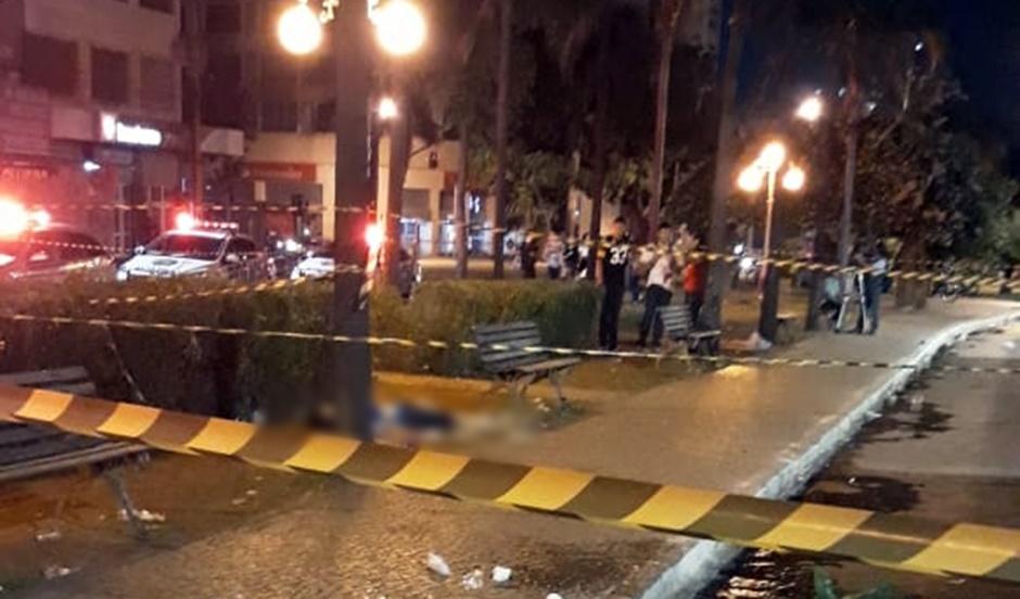 Jovem morre após ser baleado durante o evento Chorinho, no centro de Goiânia
