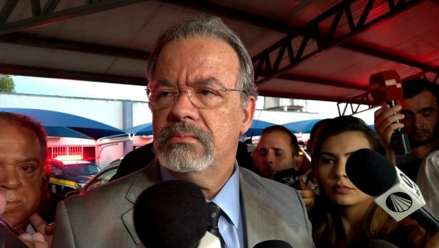 Em Goiânia, ministro da Segurança Pública comenta possíveis fraudes nas urnas