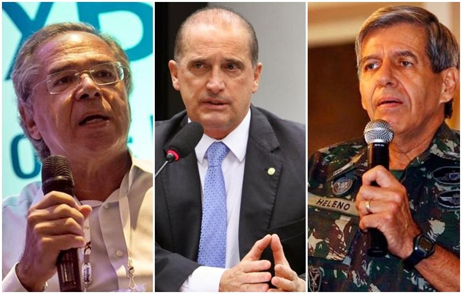 O time de Bolsonaro e os cotados para o Ministério