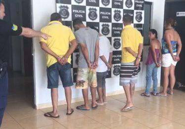 Polícia Civil prende 11 suspeitos de assassinatos em Guapó e Aragoiânia