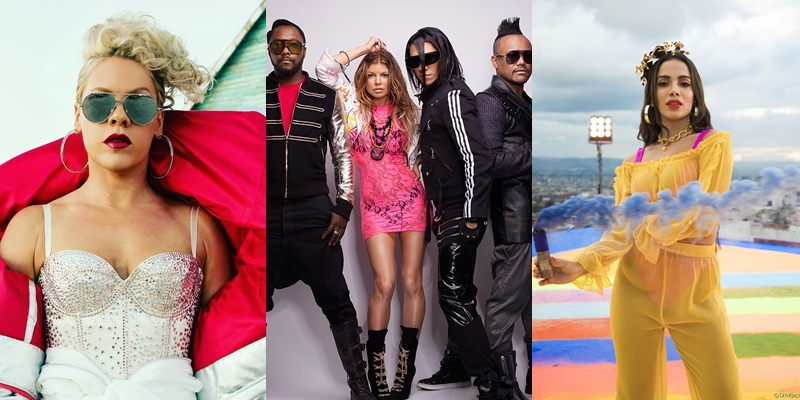Pink e Black Eyed Peas estarão no Rock in Rio