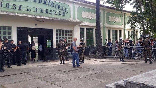 Segurança em local de votação de Bolsonaro é reforçada neste 2º turno