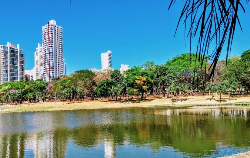 Parque Vaca Brava: Cartão-postal em região privilegiada de Goiânia