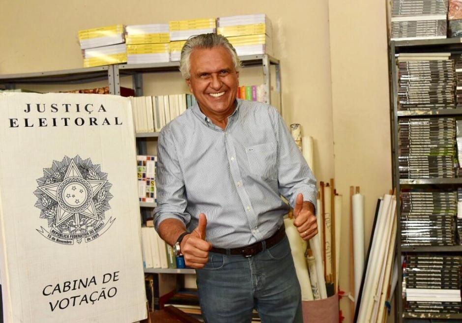 Em Nova Crixás, governador eleito fala em vitória de Bolsonaro com 60% dos votos