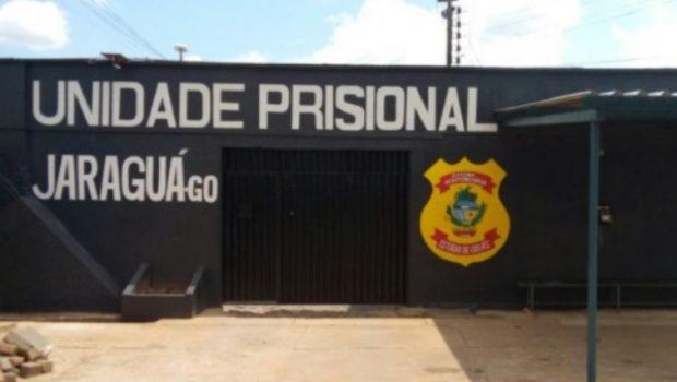 Sete fogem da unidade prisional de Jaraguá e comparsas trocam tiros com agentes penitenciários