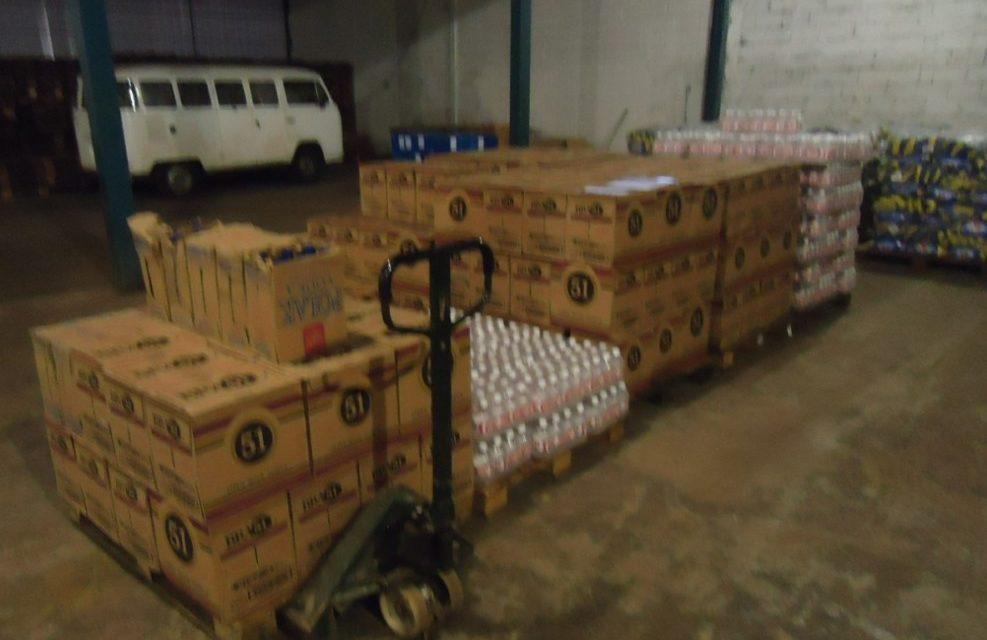 Quadrilha especializada em intermediar bebidas roubadas em Anápolis é presa