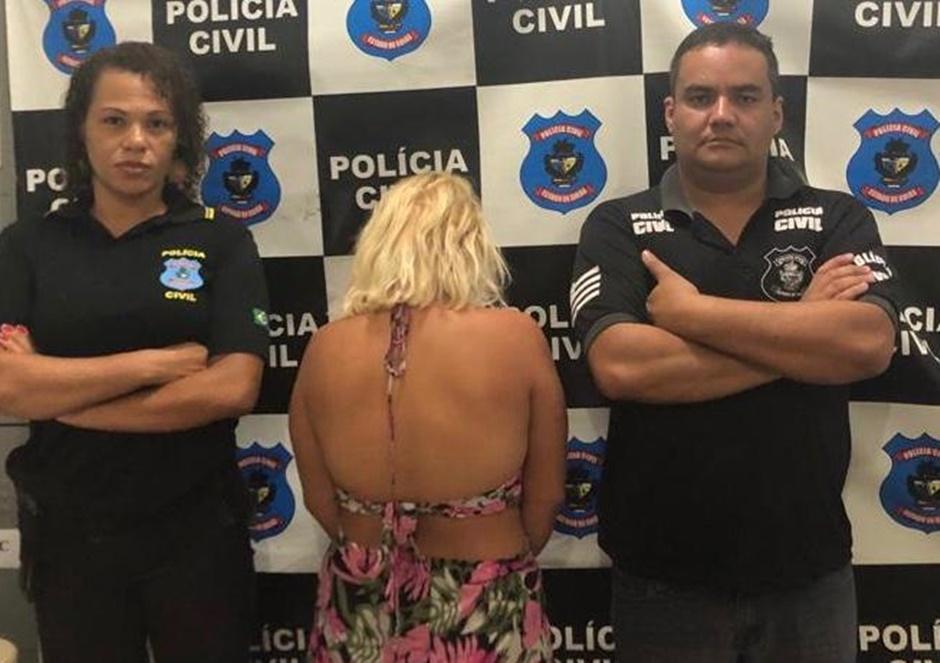 Mulher é presa por sequestrar criança em Valparaíso de Goiás