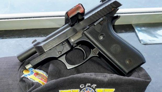 Homem é preso por porte ilegal de arma de fogo em Araguapaz