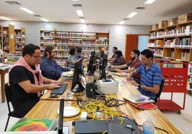Biblioteca do Centro Cultural Oscar Niemayer já tem 18 mil livros processados