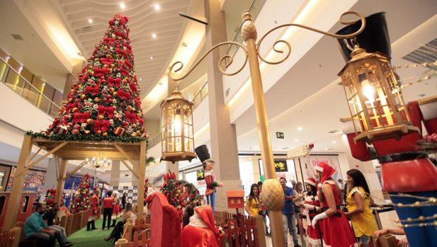 Conheça a decoração natalina dos shoppings de Goiânia e região metropolitana