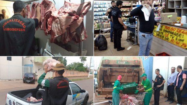 Apreendidas quase 6 toneladas de carne clandestina, em Valparaíso