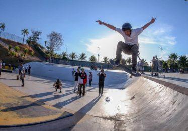 Parque Veiga Jardim recebe campeonato de skate neste sábado
